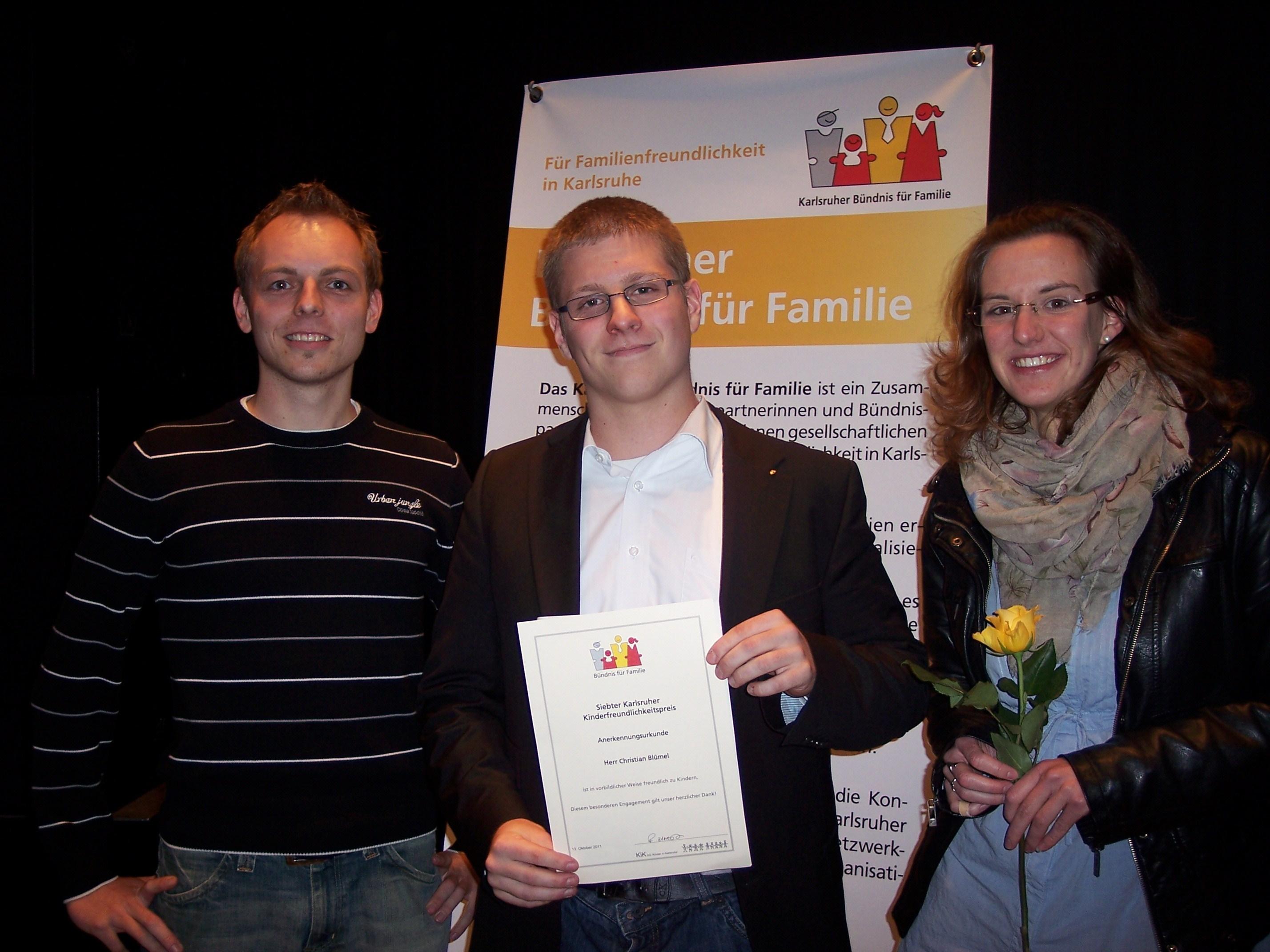 Karlsruher Kinderfreundlichkeitspreis 2011 (3/3)